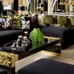 Living Room Furniture - Black Coffee Table Jacquline by Lori Morris Interior Design - Canada and USA